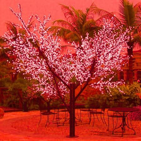 """Светодиодное дерево """"Сакура"""" LED-CBL-3.6-2688-R"""