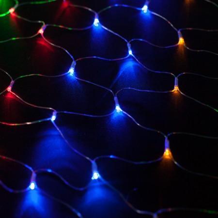 Сеть светодиодная LED-MPN-192-2x1.5M-RGBY С контроллером