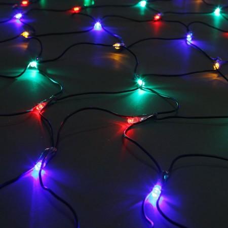 Сеть светодиодная LED-MPN-288-2x1.5М-RGBY