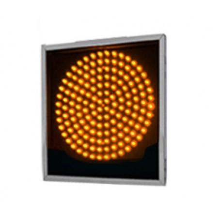 Светофор светодиодный Т.7.1 200мм с желтым излучателем