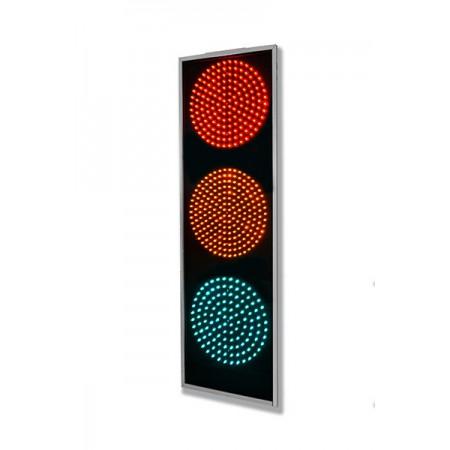Светофор 200 мм. дорожный, транспортный Т.1.1 светодиодный