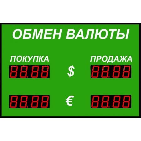 Табло курсов валют Р-100-2