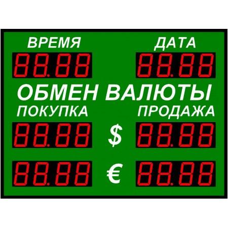 Табло курсов валют Р-100-2-Д