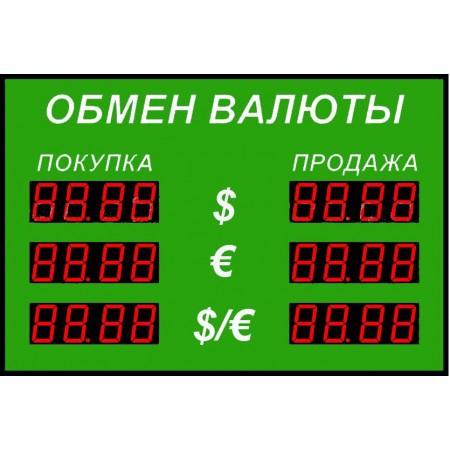 Табло курсов валют Р-100-3