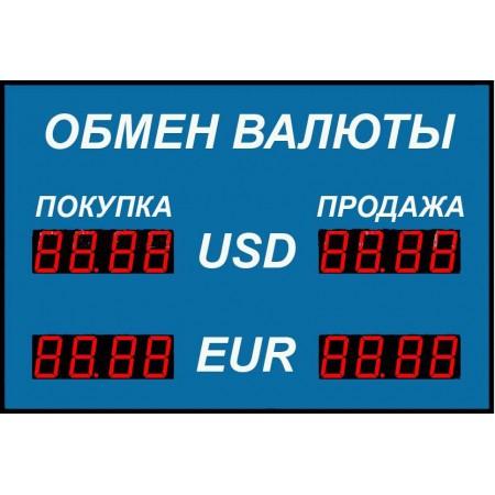 Табло курсов валют Р-38-2
