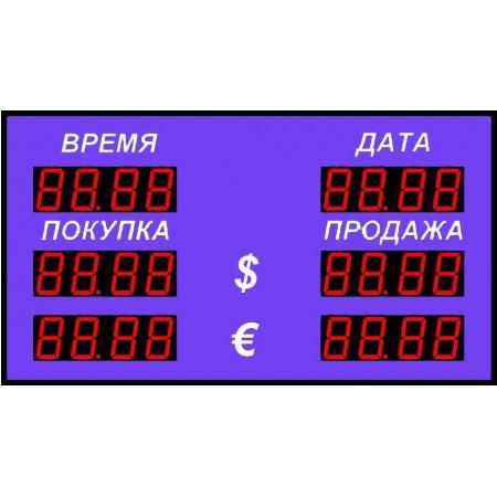 Табло курсов валют Р-58-2-Д