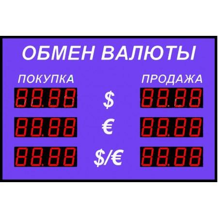 Табло курсов валют Р-58-3