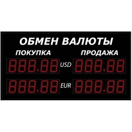 Уличное табло обмена валют Р-8х2-350