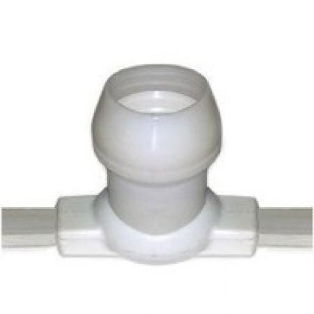 Belt-Light 2 жилы шаг 40 см патроны e27 влагостойкая IP54 белый провод (100 м.)