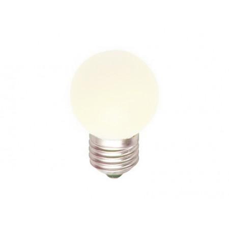 Лампа шар светодиодная e27 3 LED ?45мм - Белый для белт-лайт