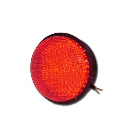 Светодиодный блок излучателя 200 мм. (БИС-200К) для светофора (Красный)