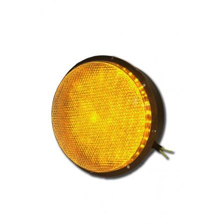 Светодиодный блок излучателя 200 мм. (БИС-200К) для светофора (Желтый)