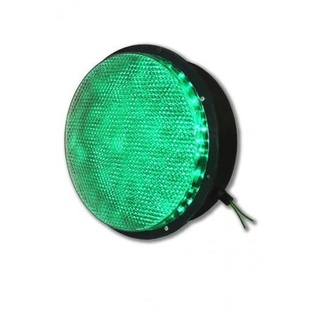 Светодиодный блок излучателя 200 мм. (БИС-200К) для светофора (Зеленый)