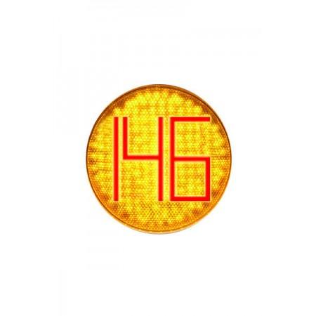 Светодиодный блок излучателя 300 мм. (БИС ТООВ – 300КЛ) для светофора