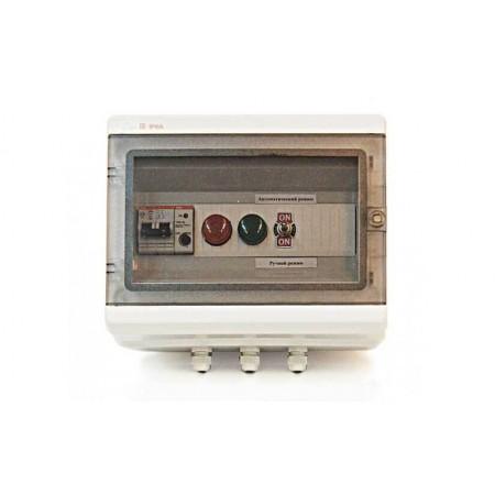 Блок управления световым ограждением АВР 2х220В-1х220В с ФД
