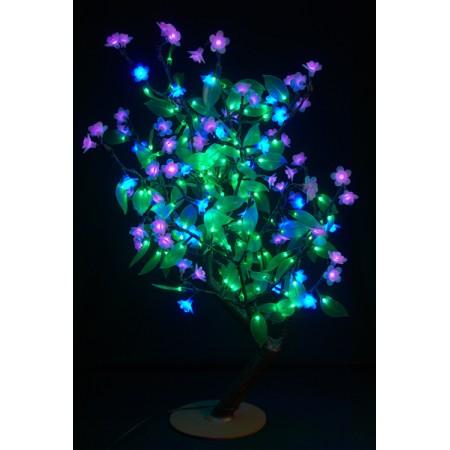 "Светодиодное дерево ""Сакура с зелеными листьями"" LED-CBL-Table(NEW)-BP"