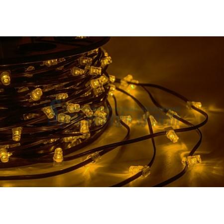 """Гирлянда 100 метров """"LED ClipLight"""" 12V 150 мм, цвет диодов Желтый постоянное свечение IP 67"""