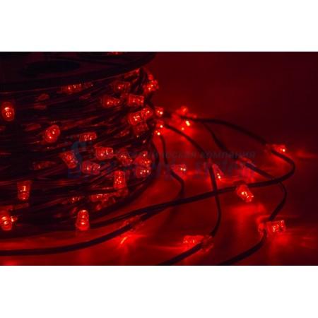 """Гирлянда 100 метров """"LED ClipLight"""" 12V 150 мм, цвет диодов Красный постоянное свечение IP 67"""