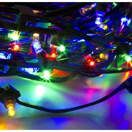 """Гирлянда 100 метров """"LED ClipLight"""" 12V 150 мм, цвет диодов Мульти постоянное свечение IP 67"""