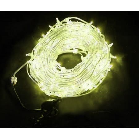 Клип-лайт светодиодный LED-LP-100M-12V-Y желтый, 100 метров, без трансформатора, прозрачный провод