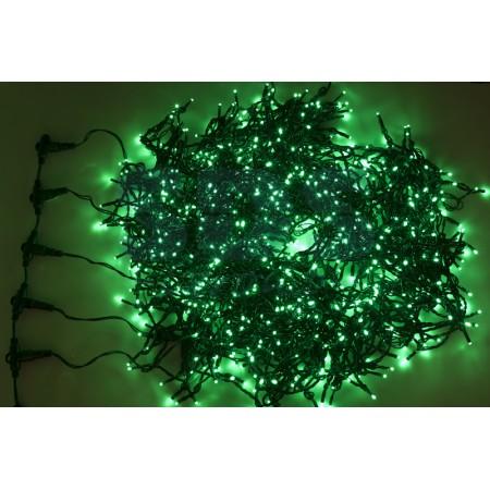 "Гирлянда ""LED ClipLight"" 24V, 5 нитей по 20 метров, ЗЕЛЕНЫЙ мерцающий"