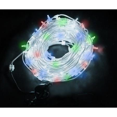 Клип-лайт светодиодный LED-LP-100M-12V-RGBY, 100 метров, без трансформатора, прозрачный провод