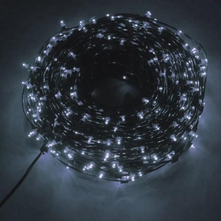 Клип-лайт светодиодный LED-LP(F)-100M-12V-W белый, 100 метров, без трансформатора, с эффектом мерцания