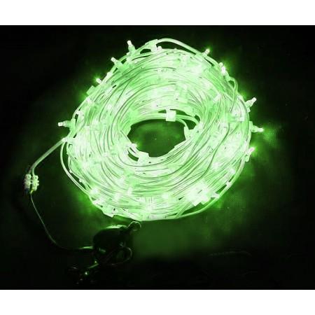 Клип-лайт светодиодный LED-LP-100M-12V-G зеленый, 100 метров, без трансформатора, прозрачный провод