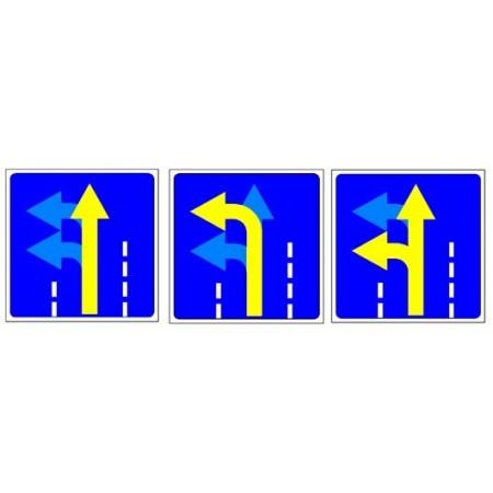 """Управляемый светодиодный дорожный знак """"Разрешенное направление движения"""" 4.1.1-4.1.6"""