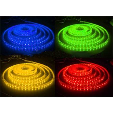 Герметичная светодиодная лента RTW-3528-PGS-2x-600LED-24V-Blue/Green/Red/Yellow