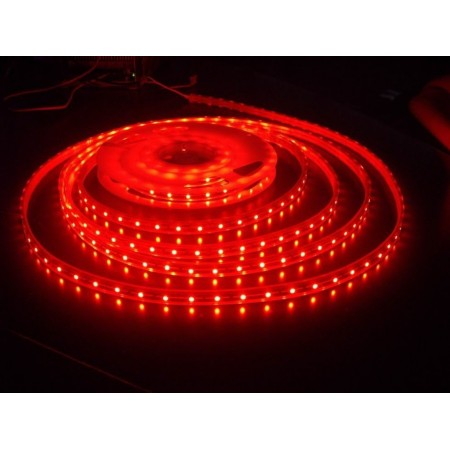 Герметичная светодиодная лента RTW-5060-SE-2x-300LED-24V-Red