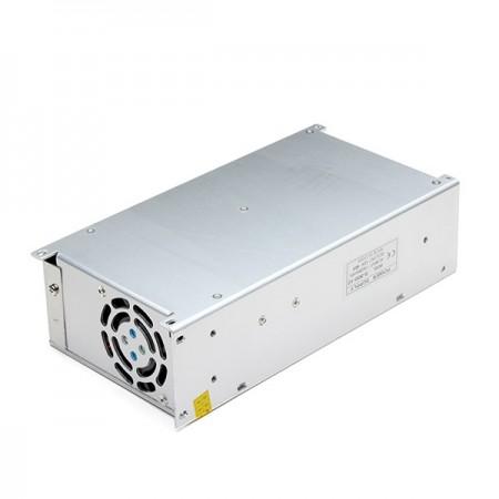 Интерьерный источник питания в металлическом кожухе с вентилятором БП-24-480 Вт