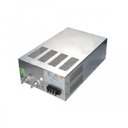Интерьерный источник питания в металлическом кожухе с вентилятором БП-12-1500 Вт