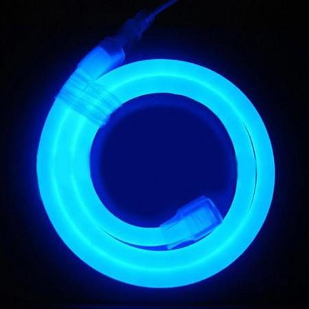 Гибкий неон светодиодный LED NEON FLEX LN-FX-50M-220V-B