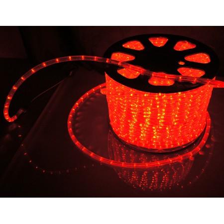 Дюралайт круглый чейзинг LED-XD-5W-96-220V-R 5-ти проводной, красный