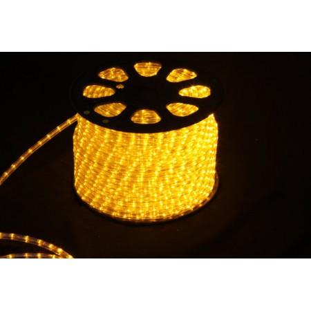 Дюралайт круглый чейзинг LED-XD-5W-96-220V-Y 5-ти проводной, желтый