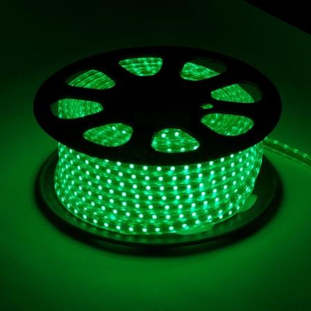 Дюралайт плоский фиксинг LED-XF-2W-100-240V-G-зеленый