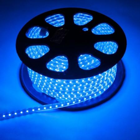 Дюралайт плоский фиксинг LED-XF-2W-100-240V-B-синий