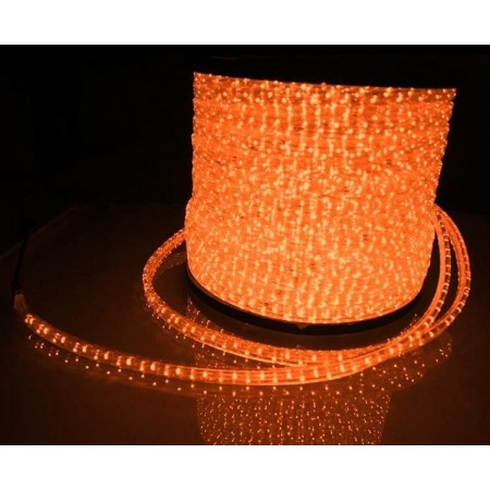 Дюралайт круглый фиксинг LED-XD-2W-100-240V-O-оранжевый