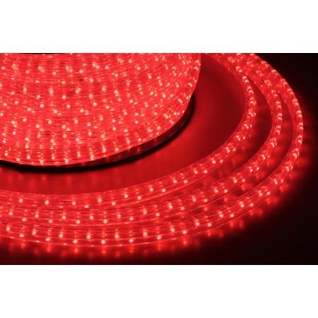 Дюралайт плоский чейзинг LED-XF-5W-50-240V-R красный