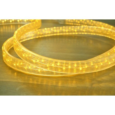 Дюралайт плоский чейзинг LED-XF-5W-50-240V-Y желтый