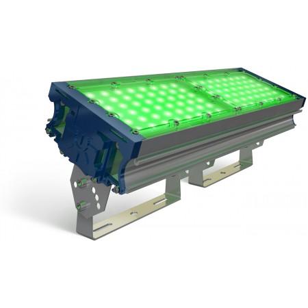 Прожектор светодиодный ПСД-100 PLUS (TL-PROM Д-120?) Green 96Вт, 15600Лм
