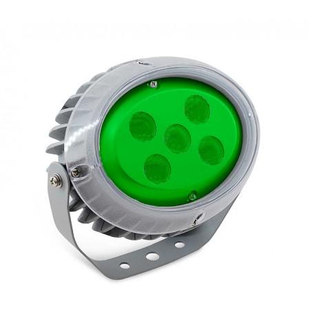 Светильник архитектурный светодиодный MS-OP 15 Вт, IP65, 725lm, (Зеленый)