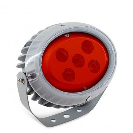 Светильник архитектурный светодиодный MS-OP 15 Вт, IP65, 594lm, (Красный)