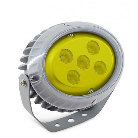 Светильник архитектурный светодиодный MS-OP 15 Вт, IP65, 1094lm, (Желтый)