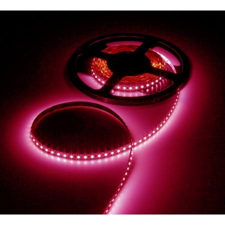 Светодиодная лента RT 2-5000 12V Pink (3528, 300 LED, LUX)