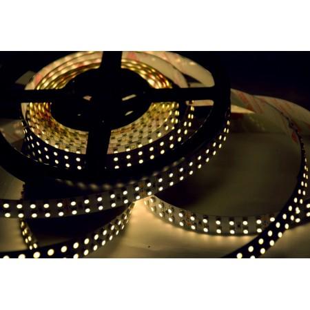 Светодиодная лента RT 2-5000 12V Warm 2x (3528, 600 LED, LUX)
