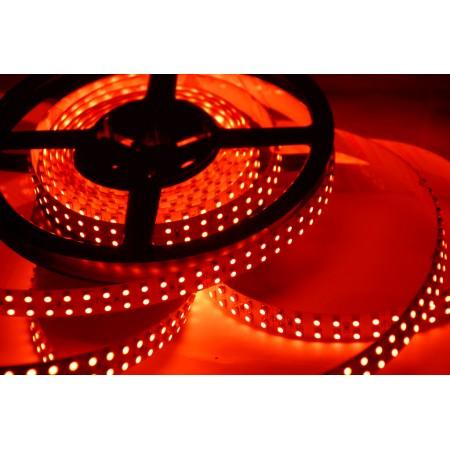 Светодиодная лента RT 2-5000 12V Red 2х (3528, 600 LED, LUX)