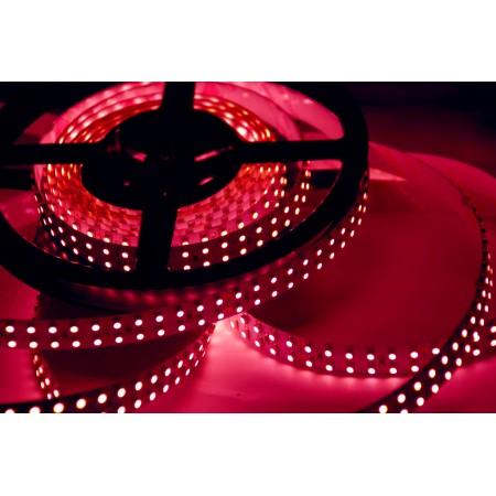 Светодиодная лента RT 2-5000 12V Pink 2X (3528, 600 LED, LUX)