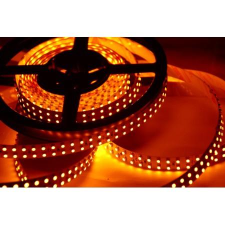 Светодиодная лента RT 2-5000 12V Orange 2X (3528, 600 LED, LUX)